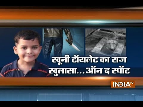 EXCLUSIVE: India TV shows crime spot inside Ryan International School