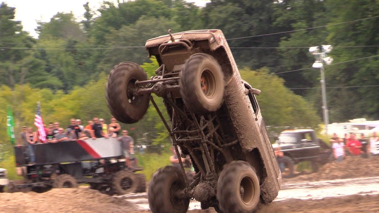 Twitty Wins Wheelie Comp at Michigan Mud Jam