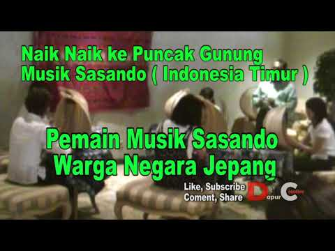 alat musik Sasando Indonesia Timur.sasando workshop with Japanese citizens