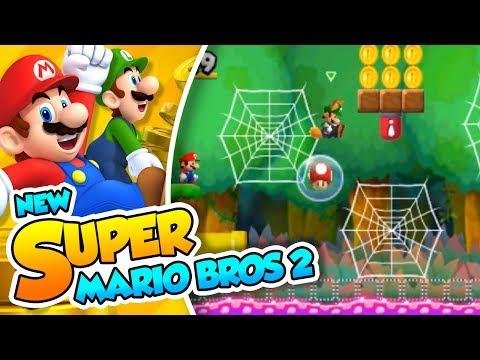 ¡Luigi peleón! | 07 | New Super Mario Bros 2 con @Naishys