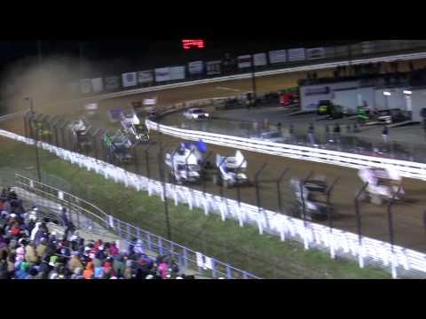 Williams Grove Speedway 410 Sprint Car Highlights 4-05-13