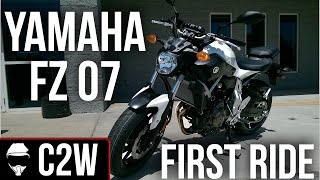 Yamaha FZ07 - First Ride and Review