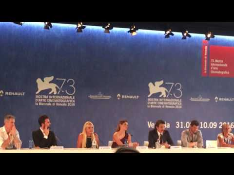 James Franco discusses In Dubious Battle at Venice Film Festival