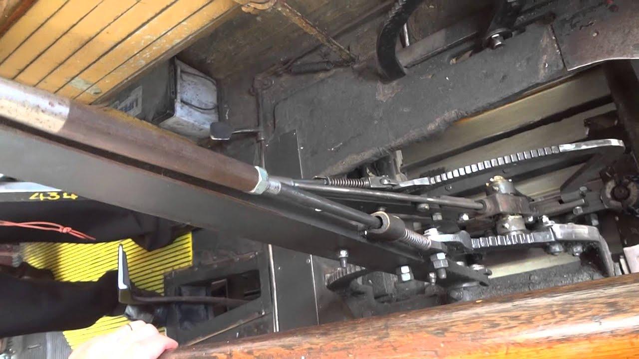san francisco cable car mechanism San Francisco Cable Car grip operation