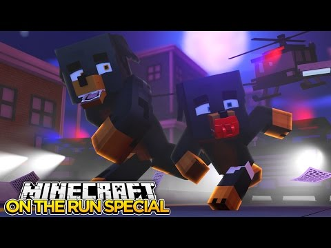 ON THE RUN MOVIE SPECIAL - Minecraft - Little Baby Max