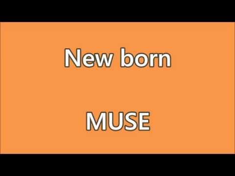 MUSE - New born - Karaoke - Lyrics