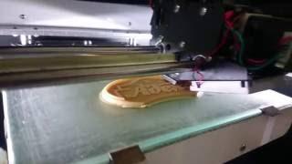 3d печать в Котласе - печатаем шильдик(Процесс изготовления фирменного шильдика для мебельного салона Адель в г.Коряжма, Архангельская область...., 2016-08-16T12:20:22.000Z)