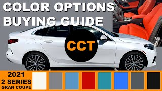 2021 BMW 2-Series Gran Coupe - Color Options Buying Guide