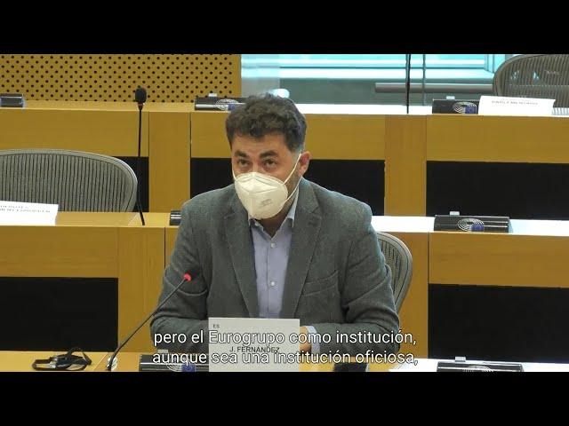 Comparecencia del presidente del Eurogrupo, Pascal Donohoe, en ECON