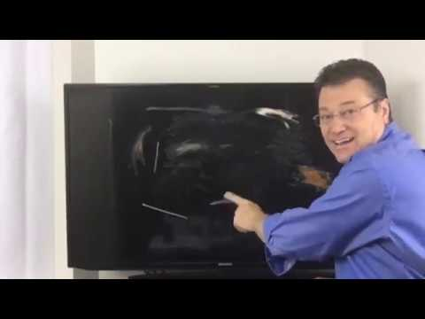 Flat Screen Clean™ Demo on a smart TV #FlatScreenCleaner #ScreenCleaner #Samsung #AmazonLive