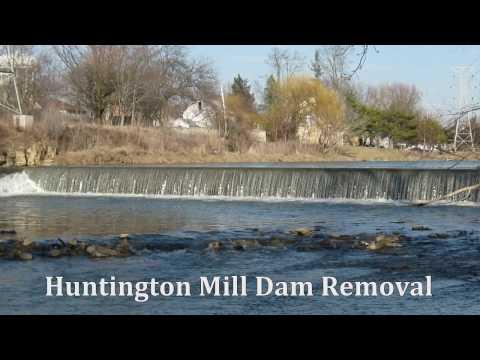 Huntington Mill Dam Demolition