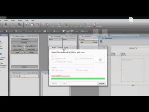 Create a report in record time and printing it with Kalipso Studio