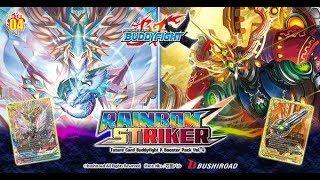 Future Card Buddyfight Rainbow Striker Booster Box Opening