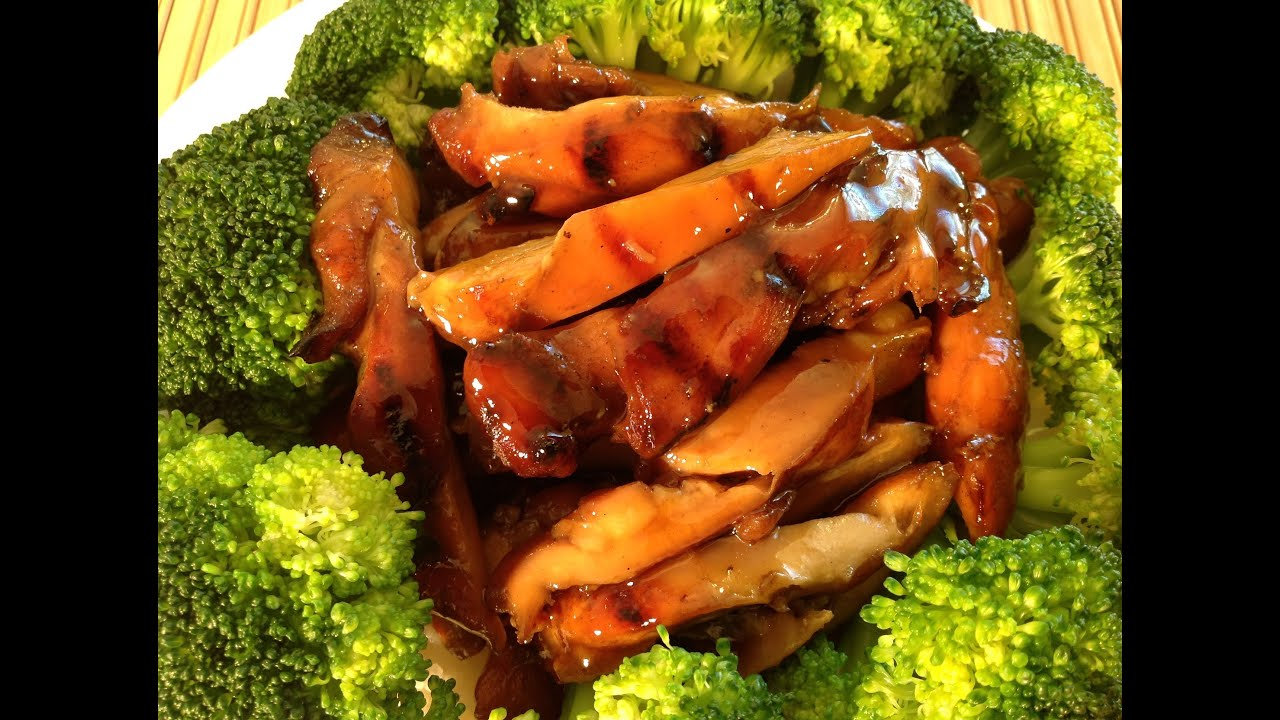 Grilled Bourbon Chicken Recipe Chinese Food Recipes Youtube