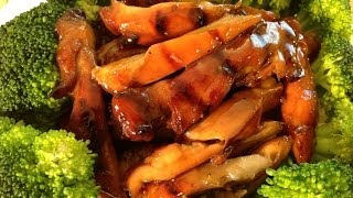 Grilled Bourbon Chicken Recipe-Chinese Food Recipes