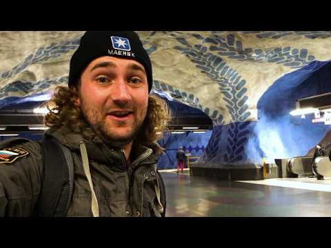 The World's Longest Art Gallery | Stockholm Underground