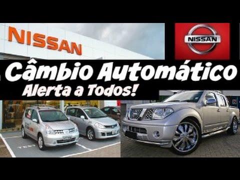 Estão assassinando os câmbios automáticos RE4F03A Nissan Tiida & Livina no Brasil