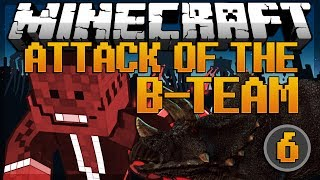 minecraft dino cage breakout attack of the b team modded survival 6