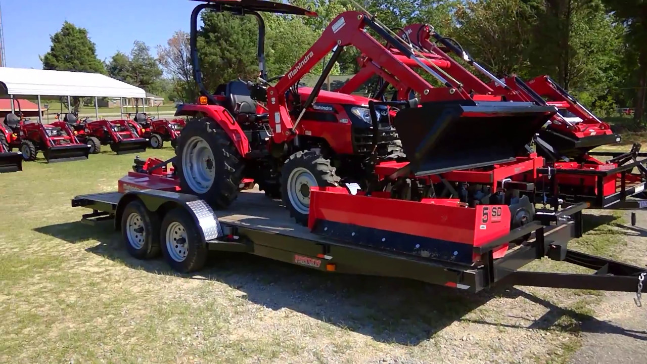 Mahindra 2538 4wd HST Tractor Package