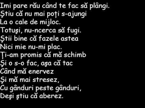 Ego-Pentru ca te iubesc[Lyrics]