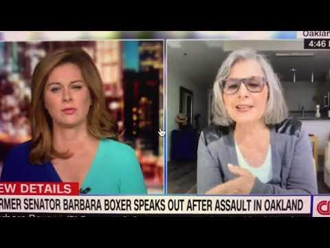 Barbara Boxer Oakland Assault, Atlanta Police Kick Black Woman In The Head - Police Reform Needed