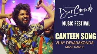 Canteen Song Vijay Devarakonda MASS Dance Performance @ Dear Comrade Music Festival