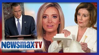 Kayleigh McEnany: Romney is petty, Pelosi is blind
