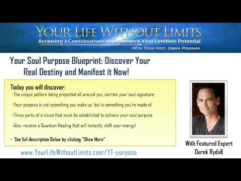 Your Soul Purpose Blueprint: Discover Your Real Destiny and Manifest it Now! featuring Derek Rydall