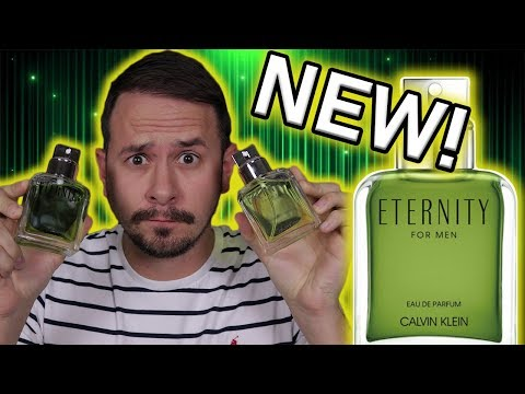 NEW CALVIN KLEIN ETERNITY FOR MEN EDP REVIEW