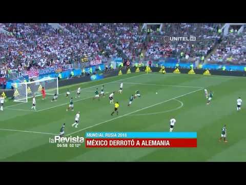 Mundial, Grupo F: Alemania 0 – 1 México