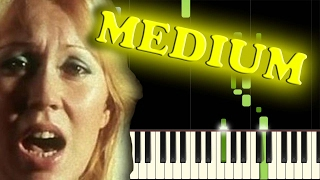 ABBA - DANCING QUEEN - Piano Tutorial