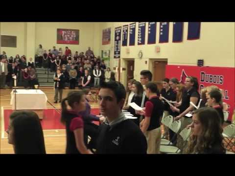 DuBois Central Catholic School Catholic Schools Week Mass