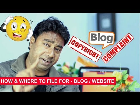 Some one copied your Blog Post / Article from website or blog ? How to file DMCA Complain