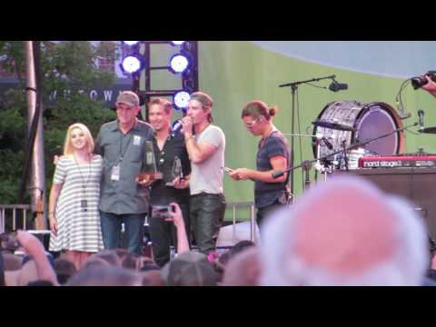 Hanson - Receiving Oklahoma Music Hall of Fame - The Hop Jam