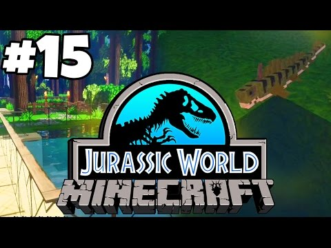 Jurassic World: Minecraft Dinosaurs | JURASSICRAFT + A PREHISTORIC SHARK (Playthrough Part 15)