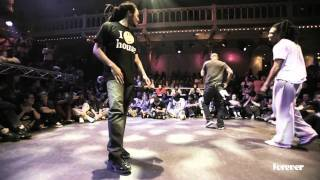 house dance forever 2012 first one minute round battles