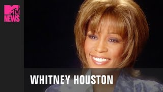 Whitney Houston Reminisces About 80's Music on MTV (2001) | #TBMTV Video