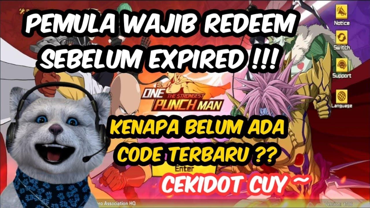 ALASAN KENAPA BELUM ADA GIFT CODE TERBARU !!! - One Punch ...