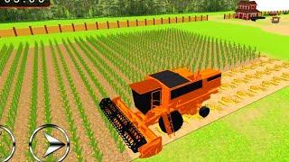 Tractor Cargo Transport: Farming Simulator 2 | Corn Harvest #2 Android GamePlay screenshot 4