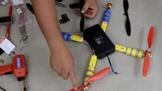 How to make a drone in 3 hours, ready to fly! Part.2