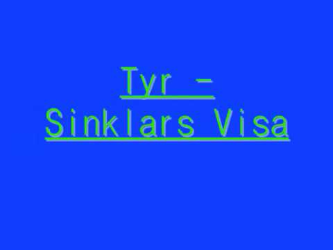 Tyr - Sinklars Visa (english lyrics)
