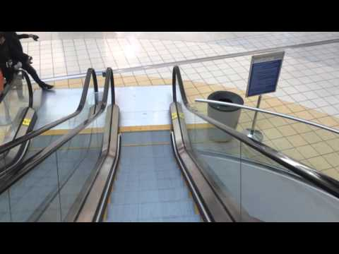 KONE Mall Escalators Outside Of AMC Theatres, Chesterfield Mall, Chesterfield, MO