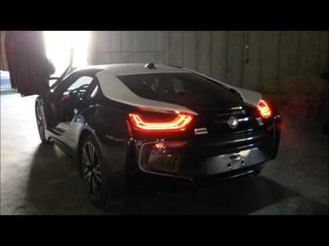 BMW i8 Revs & Exhaust Sound