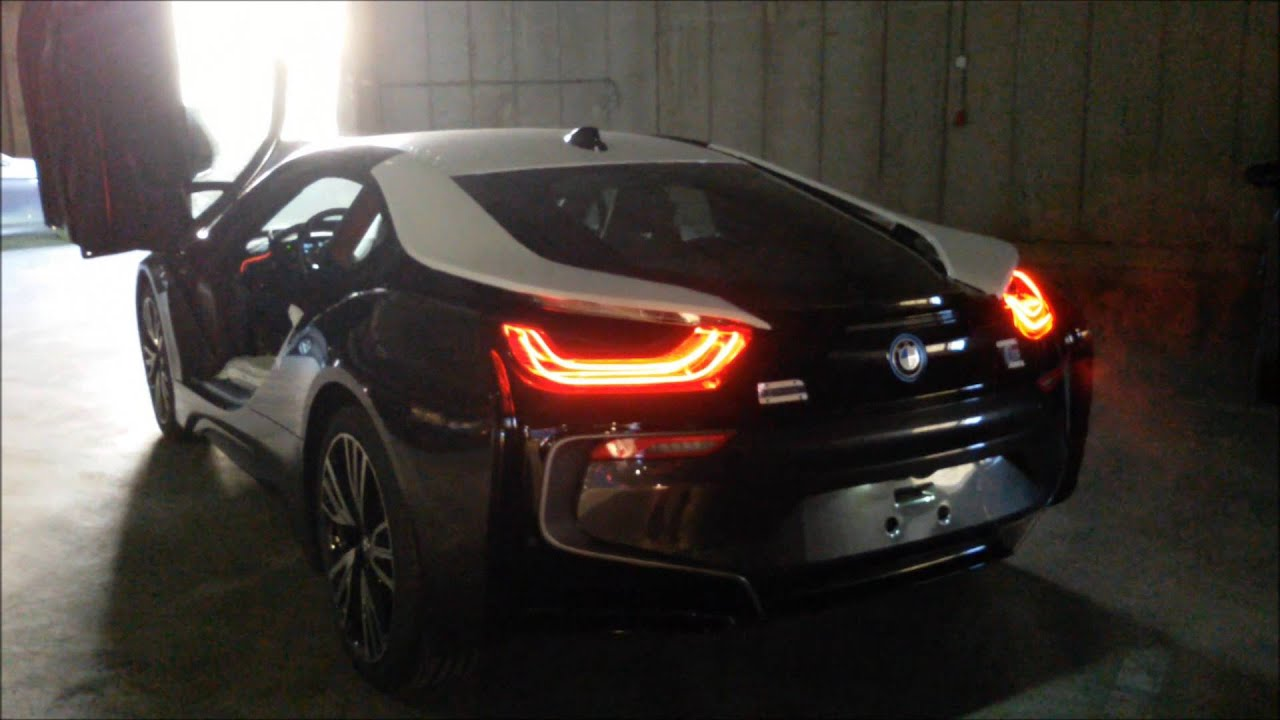 Bmw I8 Revs Exhaust Sound Youtube