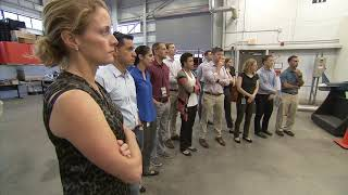 Astronaut Candidate Class of 2017 visits NASA Langley