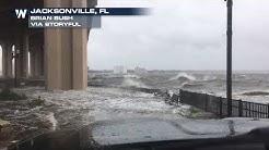 River Overflows in Jacksonville, Florida