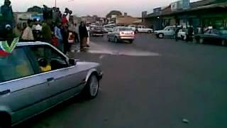 BMW spinning in SOWETO