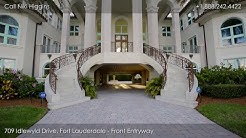 Luxury Estate Home 709 Idlewyld Drive, Fort Lauderdale, Florida 33301