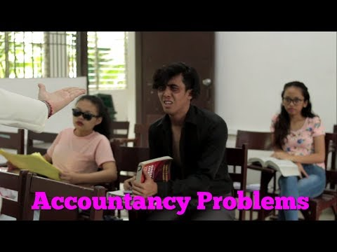 Accountancy Problems (Funny)