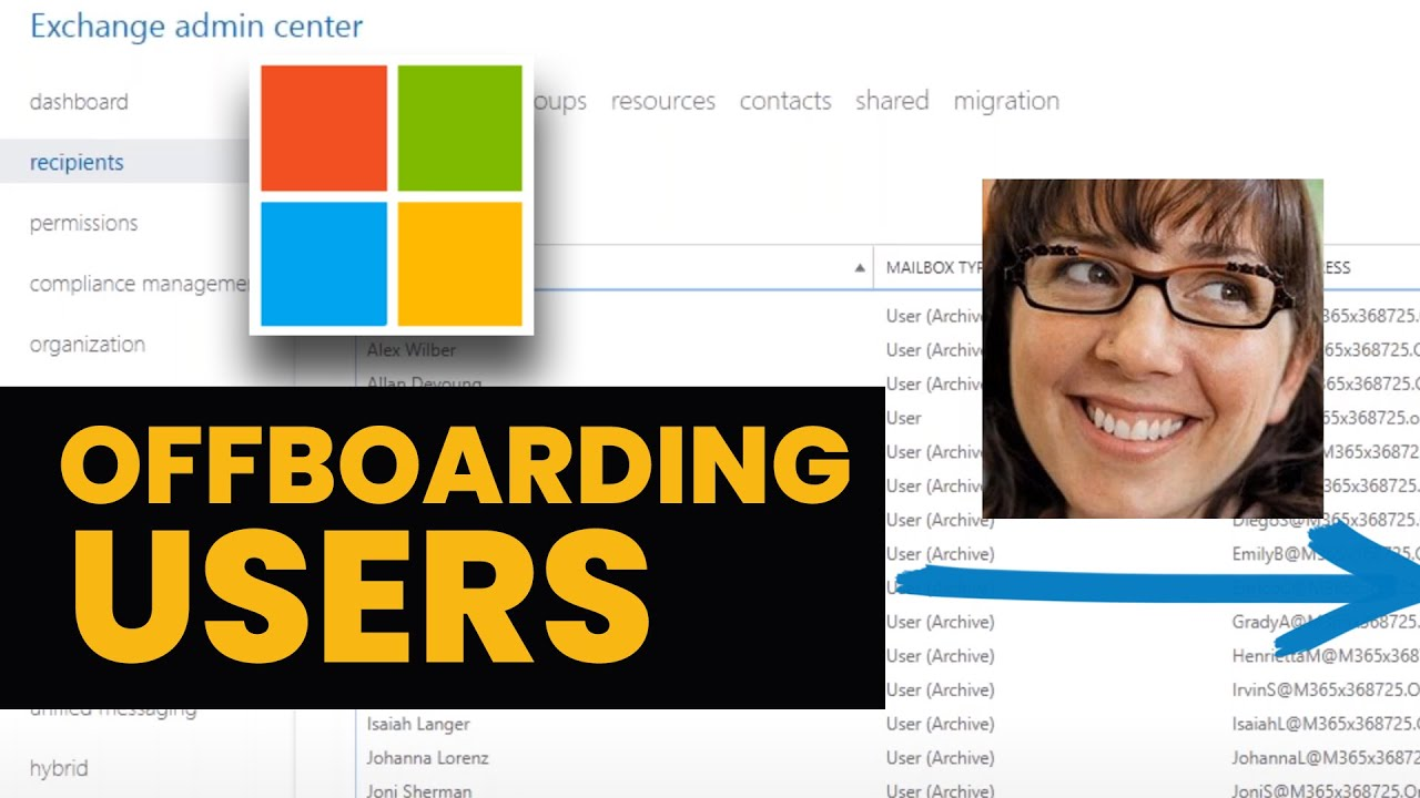 Offboarding in Office 365 (Video) - Agile IT